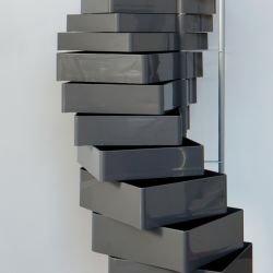 Colonne de rangement grise SPINNY B-Line