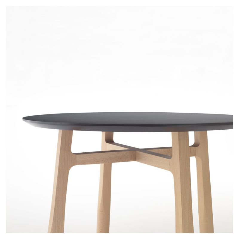 Tab bout de canap kendo en bois design discoh for Table design tab