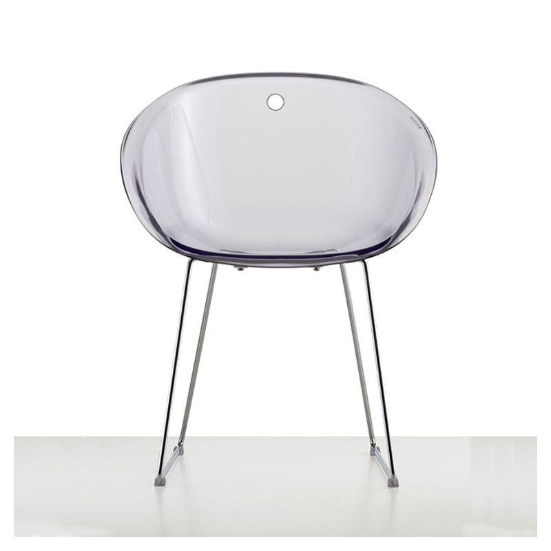 Gliss 921 chaise luge polycarbonate pedrali for Chaise pedrali