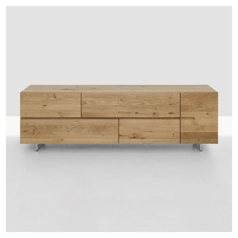 low buffet bas design bois massif zeitraum. Black Bedroom Furniture Sets. Home Design Ideas