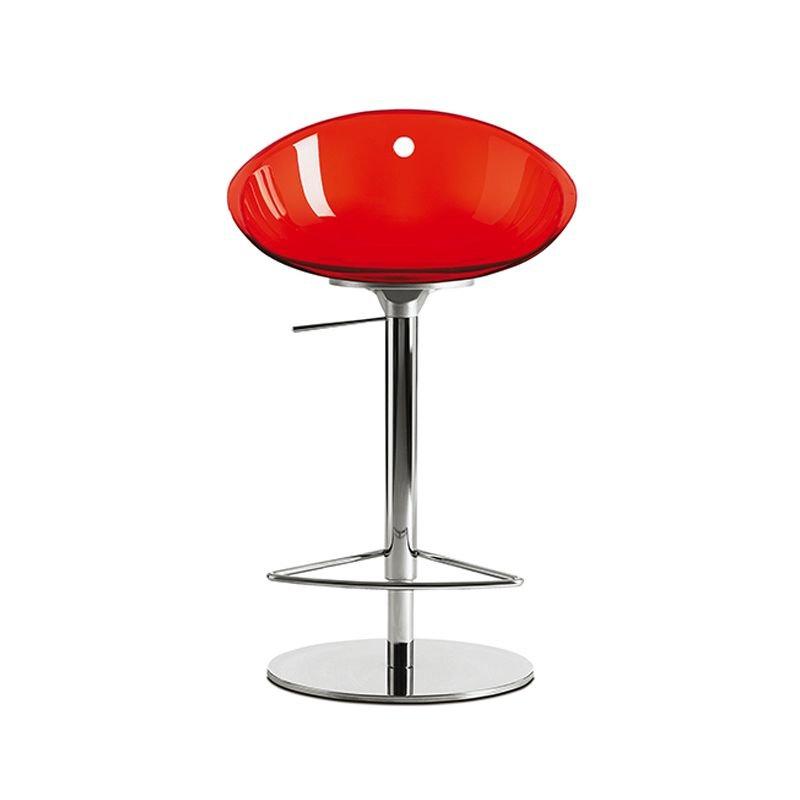 Chaise De Bar Rouge GLISS 970 Pedrali