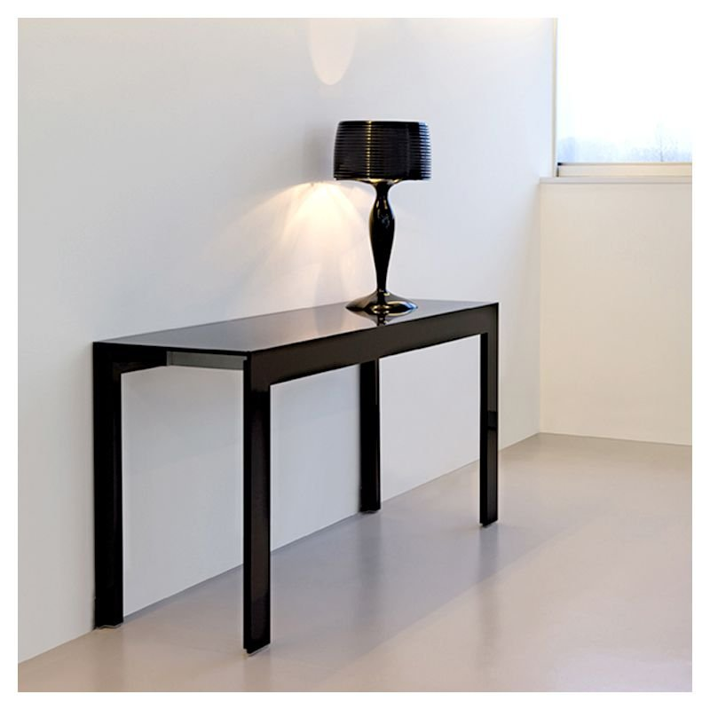 matrix console pedrali extensible en table 6 pers. Black Bedroom Furniture Sets. Home Design Ideas