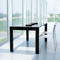 Table extensible verre MATRIX  Pedrali