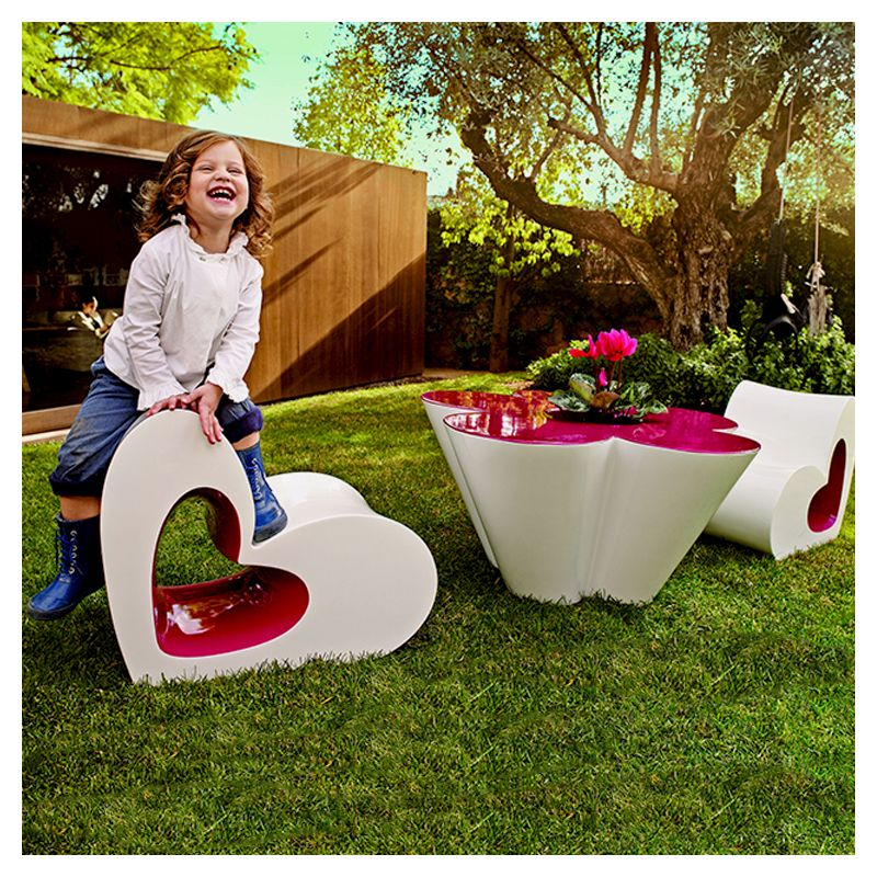 agatha chaise enfant forme coeur chaise design vondom. Black Bedroom Furniture Sets. Home Design Ideas