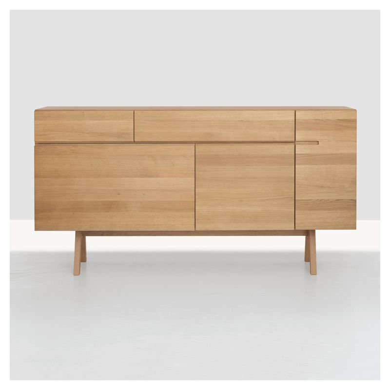 side atelier buffet contemporain bois massif. Black Bedroom Furniture Sets. Home Design Ideas
