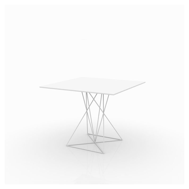 Table de jardin design inox FAZ Vondom