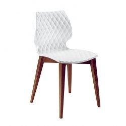 Chaise bois UNI Metalmobil