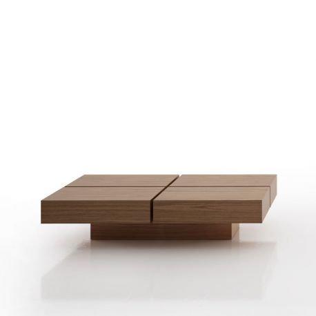Cube table basse salon design tiroir celda - Cube table basse ...