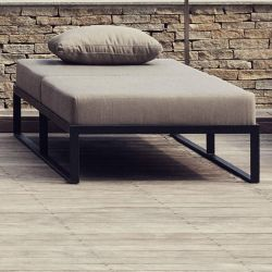 Daybed gris naturel GARDEN EASY Röshults