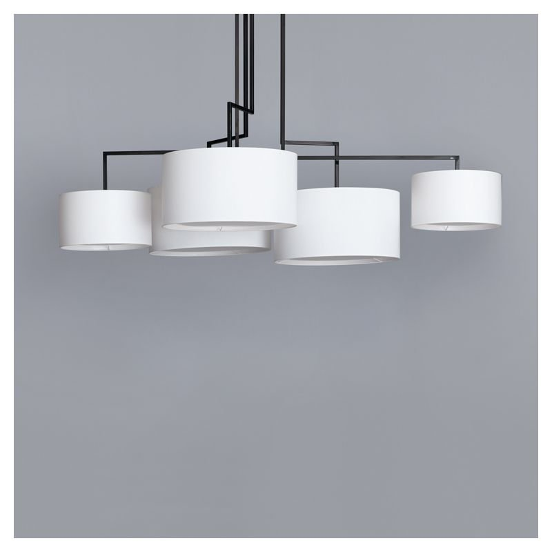 Noon 5 suspension contemporaine lampe design zeitraum for Suspension contemporaine