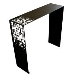 Console noire CUBICAL Coco & Co