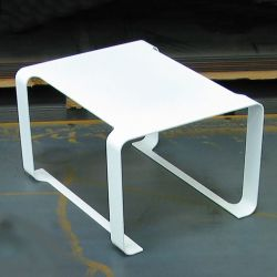 Table basse blanche MINIMAL Coco & Co