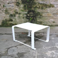 Table basse outdoor blanche MINIMAL Coco & Co