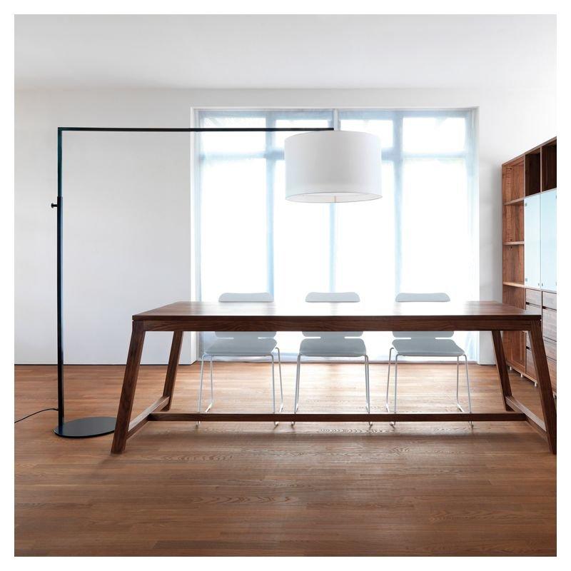 high noon lampe de sol r glable zeitraum. Black Bedroom Furniture Sets. Home Design Ideas