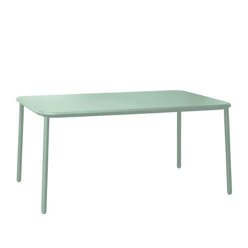 Yard table de jardin rectangulaire emu table repas outdoor for Service de table rectangulaire