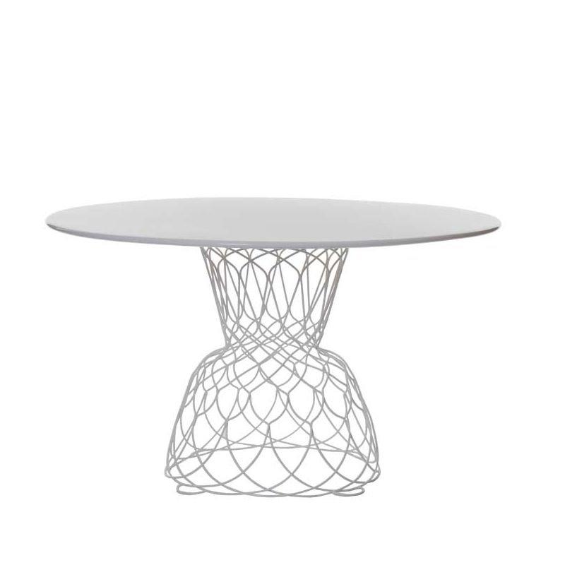 Re-Trouvé, table ronde design de jardin Emu