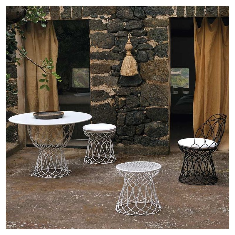 Re Trouv Table Ronde Design De Jardin Emu
