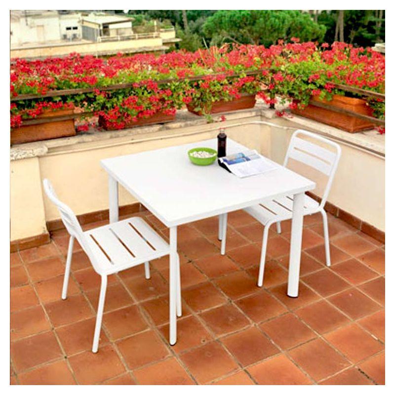 Star chaise de jardin emu empilable acier 11 couleurs - Table jardin emu rennes ...
