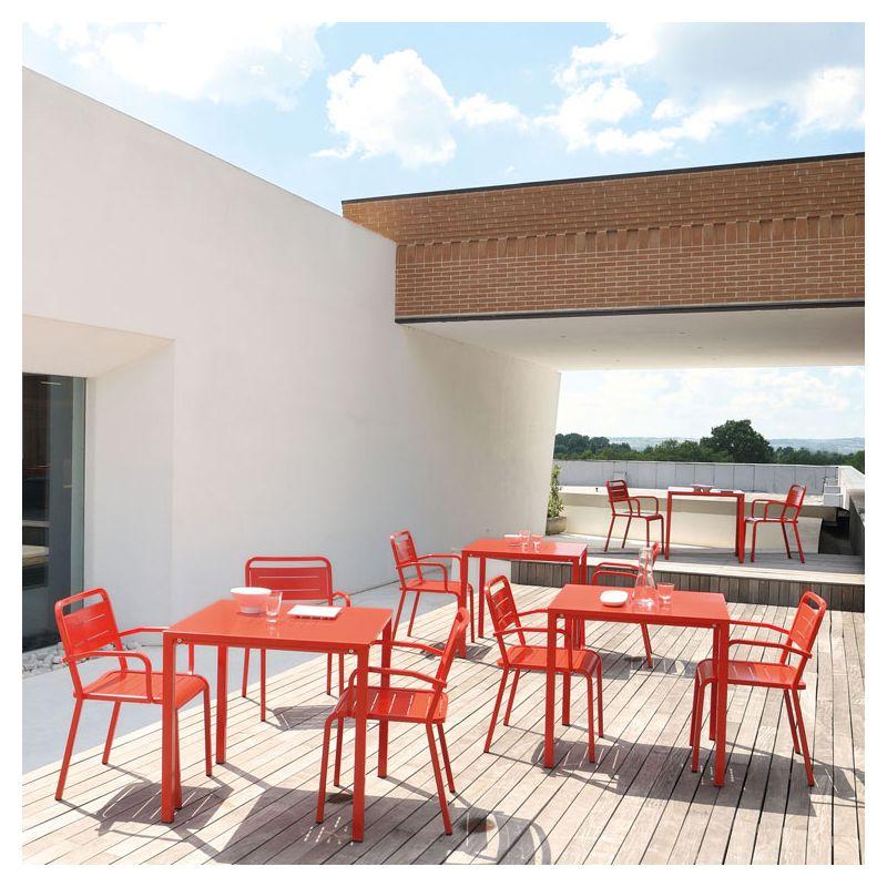 urban fauteuil jardin design emu aluminium empilable. Black Bedroom Furniture Sets. Home Design Ideas