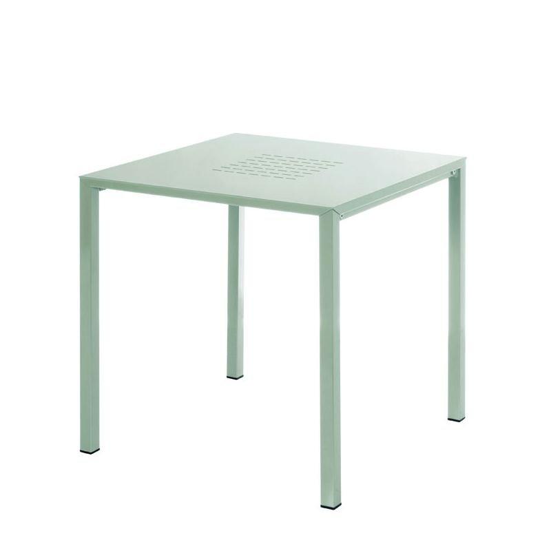 Urban table de jardin carr e aluminium emu - Table carree exterieur aluminium ...