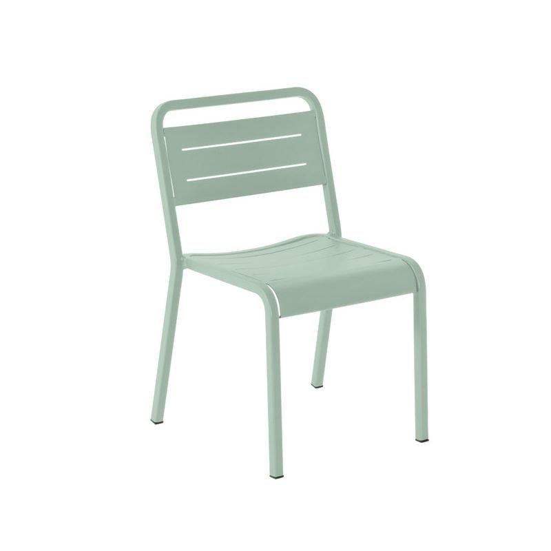 Urban chaise jardin design emu aluminium empilable for Chaise empilable