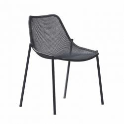 Chaise empilable fer ancien ROUND Emu