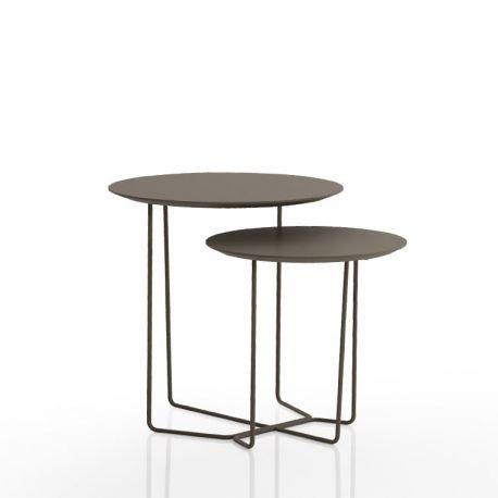 sola table basse gigogne bois m tal celda. Black Bedroom Furniture Sets. Home Design Ideas