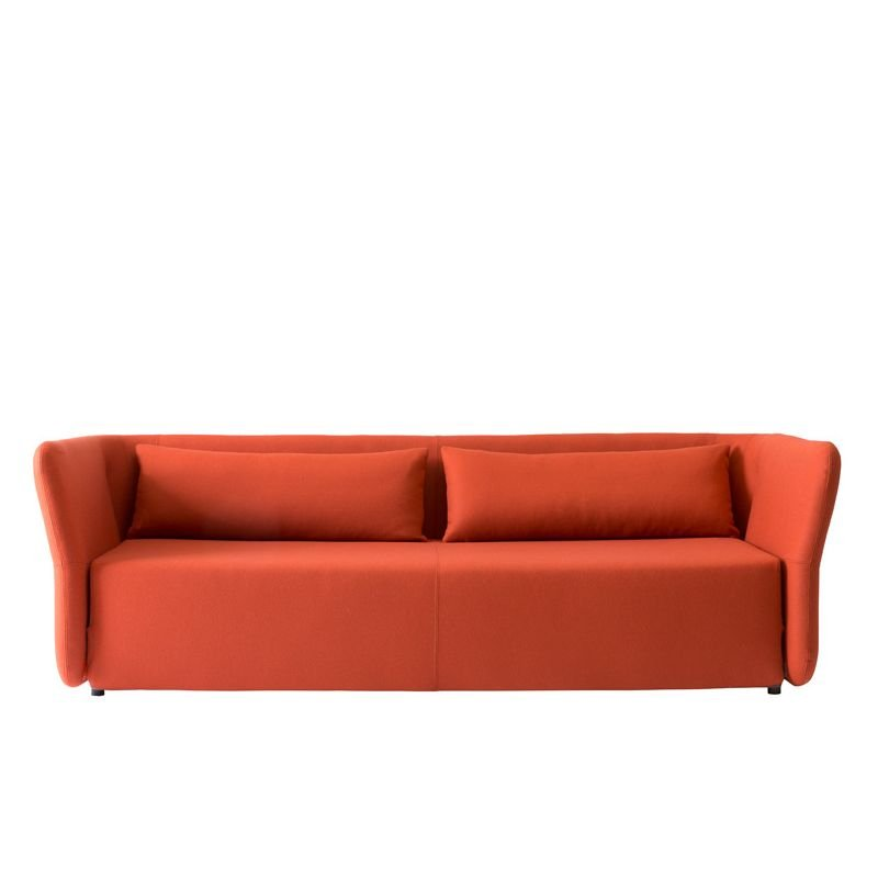 Canapé convertible orange CARMEN Softline
