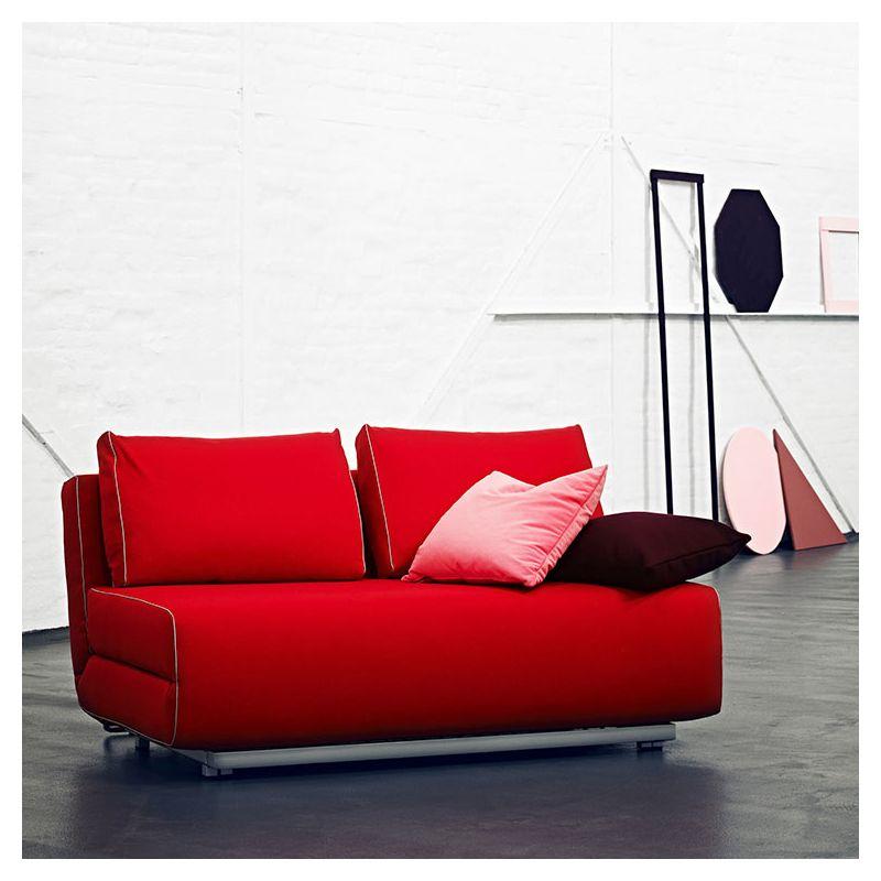 Canapé lit compact, canapé 2 pl. City Softline
