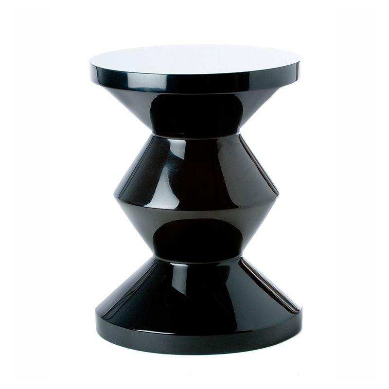 zig zag tabouret pols potten table d 39 appoint laqu e. Black Bedroom Furniture Sets. Home Design Ideas