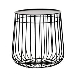 Table d'appoint noire WIRE  Pols Potten