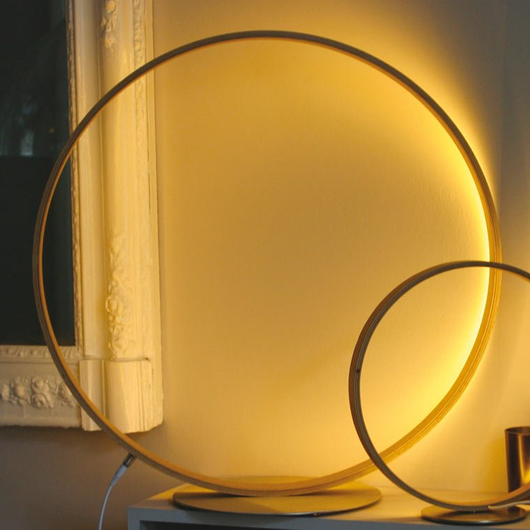 Lampe de table design leds O² Henri Bursztyn