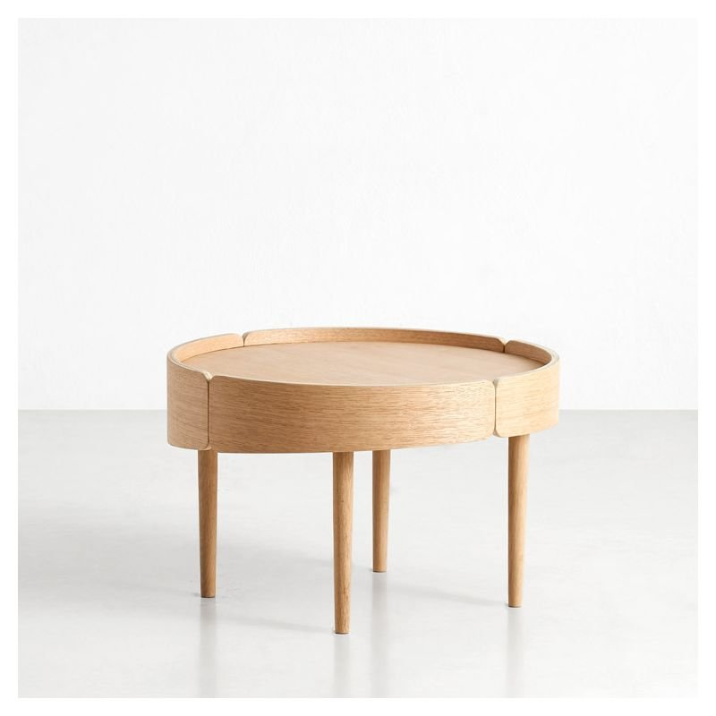 Table basse chêne naturel SKIRT Woud