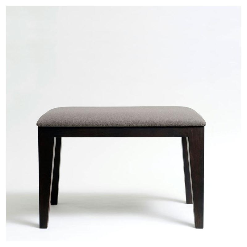 bob petit banc design en bois cuir tissu mjiila. Black Bedroom Furniture Sets. Home Design Ideas