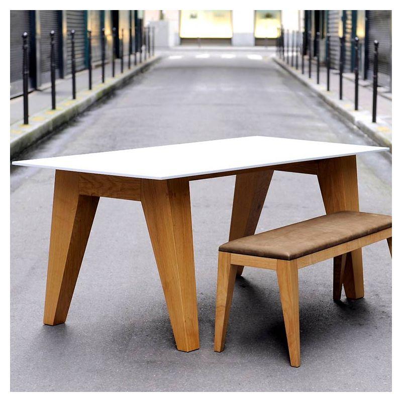 table design rectangulaire bois om 1 0 mjiila. Black Bedroom Furniture Sets. Home Design Ideas