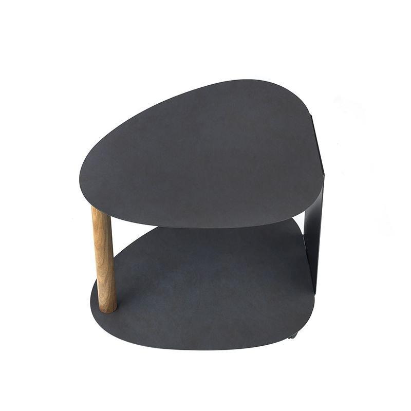 curve table basse design lind dna en cuir bois. Black Bedroom Furniture Sets. Home Design Ideas