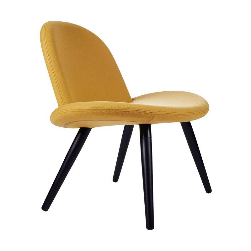 Chaise lounge tissu Divina coloris jaune d'or ORLANDO Softline