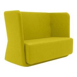Canapé BASKET tissu Felt jaune Softline