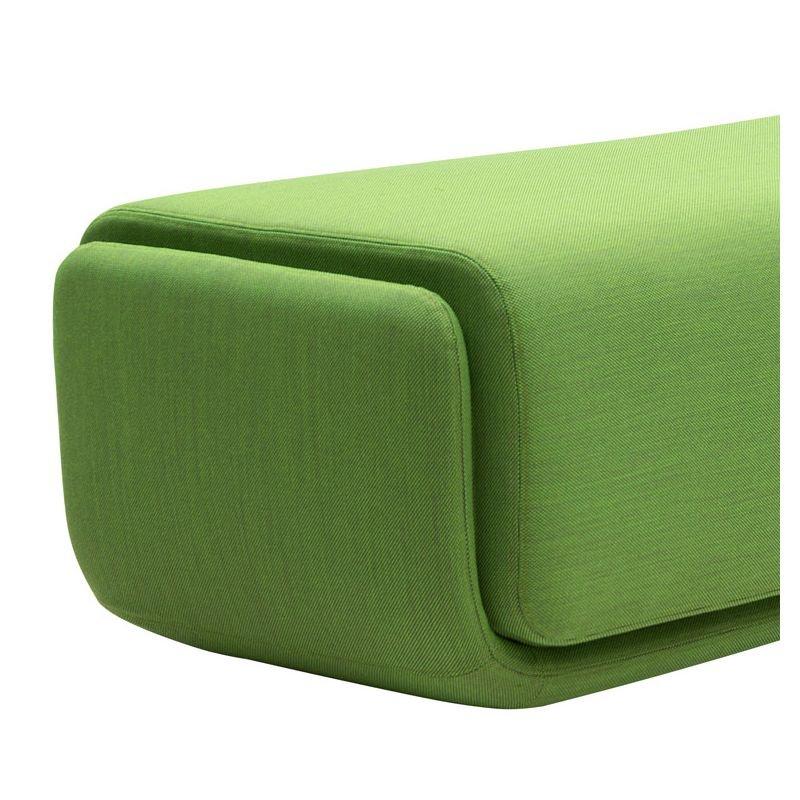 basket pouf repose pied tissu design softline. Black Bedroom Furniture Sets. Home Design Ideas