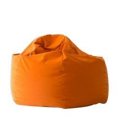 Pouf MAGNUM Softline, tissu Beaver orange