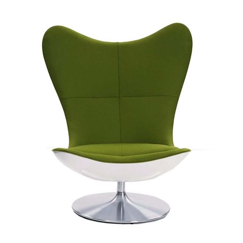 Glove fauteuil pivotant design terence conran - Fauteuil club pivotant ...