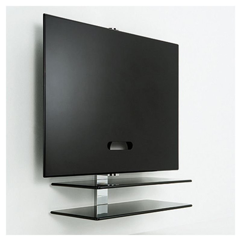 Quest meuble tv mural id es de d coration et de mobilier for Meuble mural hifi