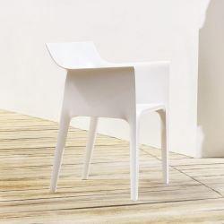 Fauteuil outdoor blanc PEDRERA Vondom