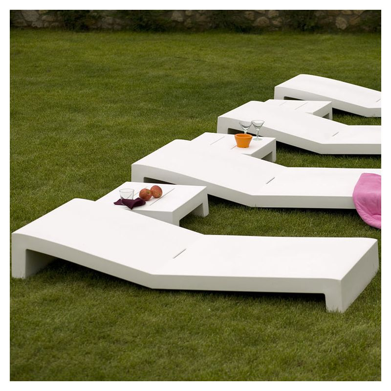 jut bain de soleil design vondom transat moderne. Black Bedroom Furniture Sets. Home Design Ideas
