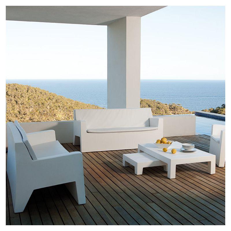 jut canap outdoor 2 pl sofa design vondom. Black Bedroom Furniture Sets. Home Design Ideas