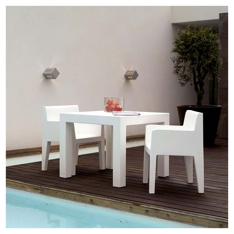 jut table outdoor carr e design vondom. Black Bedroom Furniture Sets. Home Design Ideas