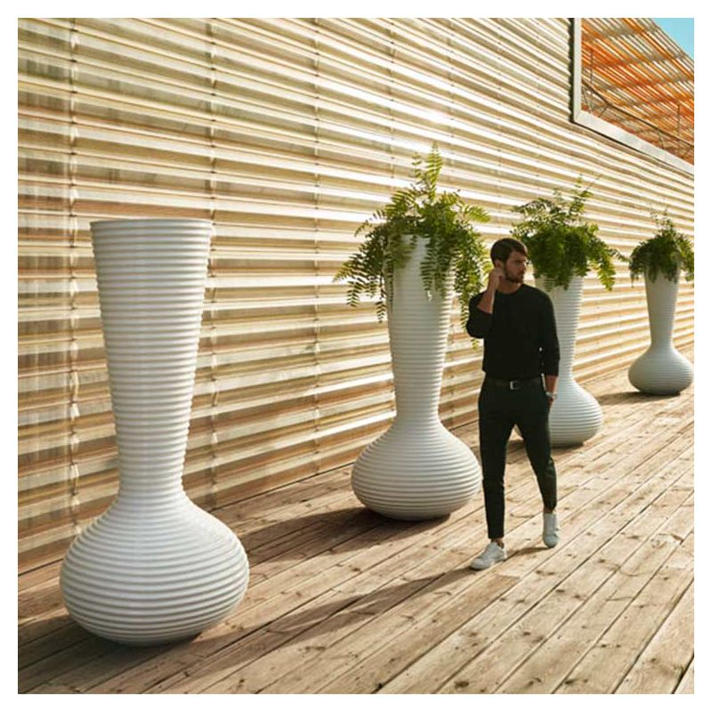 bloom pot lumineux xxl vondom vase ext rieur leds. Black Bedroom Furniture Sets. Home Design Ideas