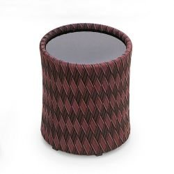 Table d'appoint multicolore marron KENTE Varaschin
