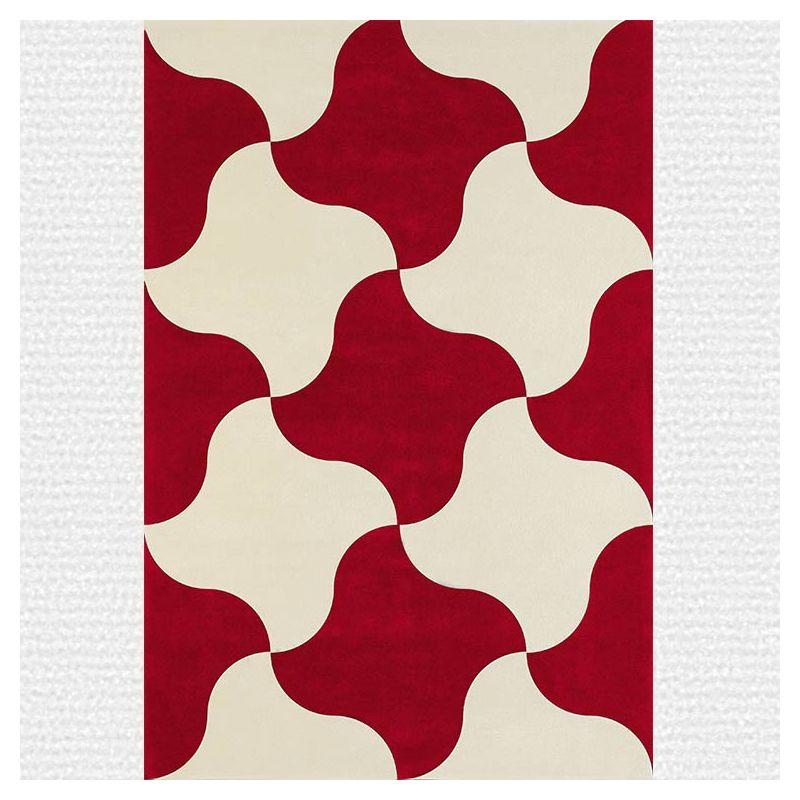 Tapis carmin MOULIN À VENT Now Carpets