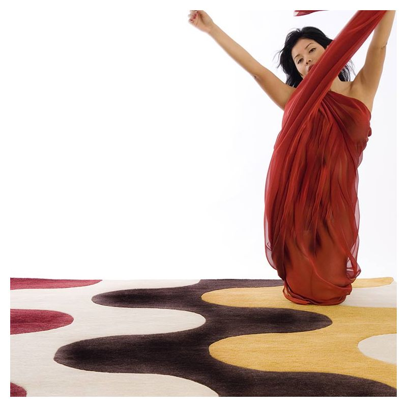 Tapis multi FLAMME 2A Now Carpets
